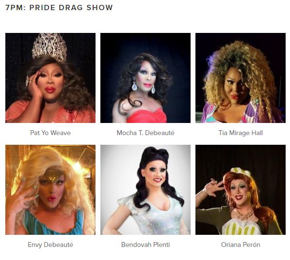 7PM Pride Drag Show